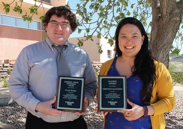 2017 Riehl and Alumni Award winners