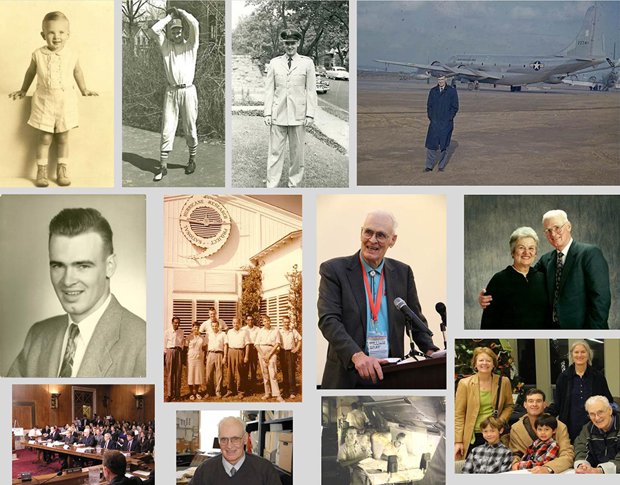 Bill Gray memorial collage