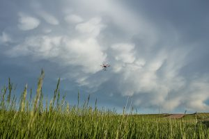 C3LOUD-Ex drone flies into a storm cloud