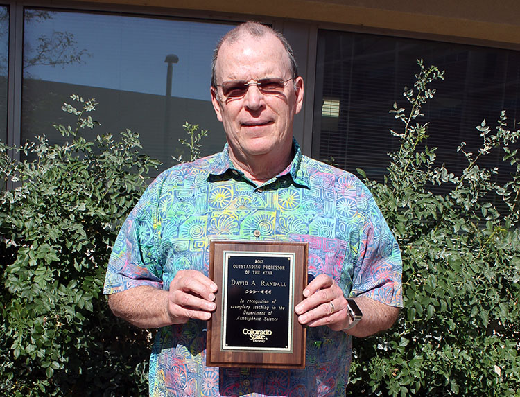 Professor of the Year Dave Randall