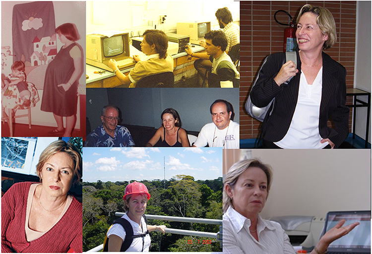 Collage of photos of Maria Silva Dias