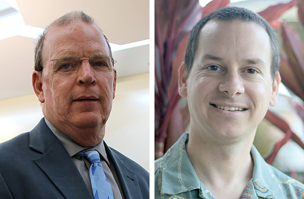 Professors Dave Randall and Michael Bell