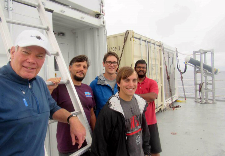 SEA-POL radar team photo from NASA blog