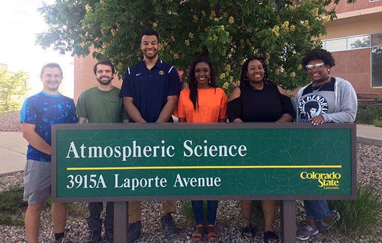 North Carolina A&T State University students