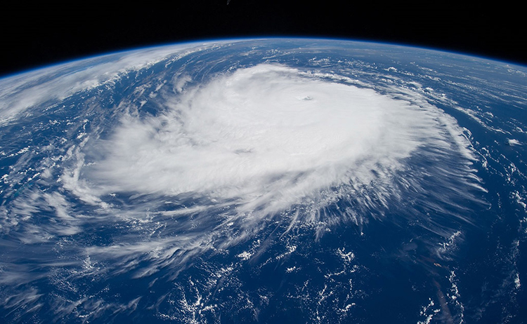 Hurricane Edouard satellite image