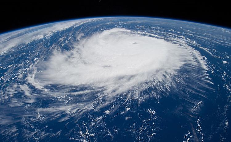 Hurricane Edouard satellite image