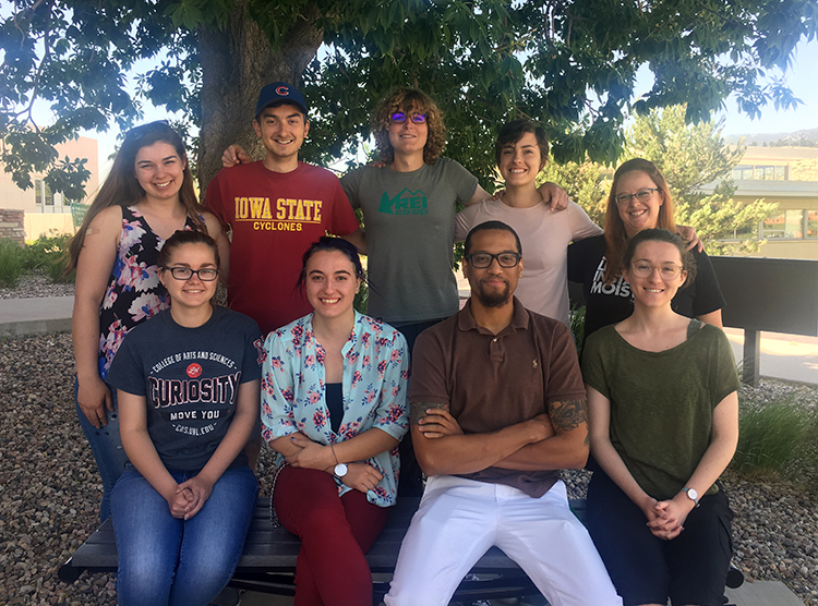 2018 REU interns