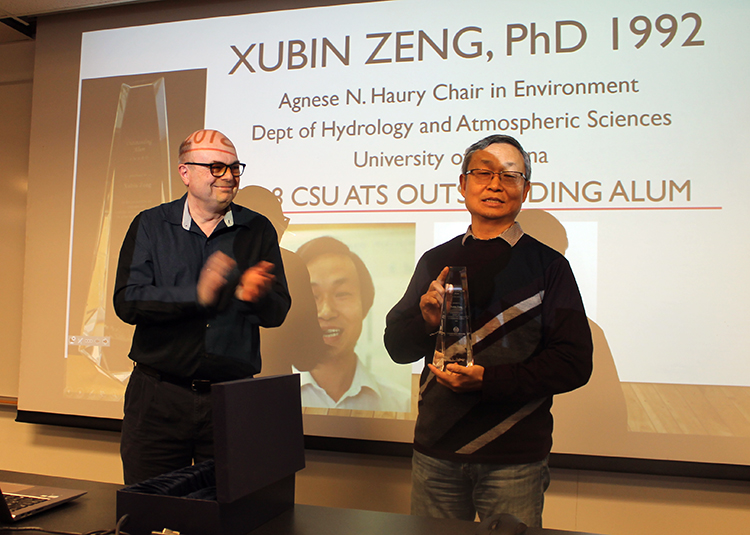 Outstanding Alum Award winner Xubin Zeng