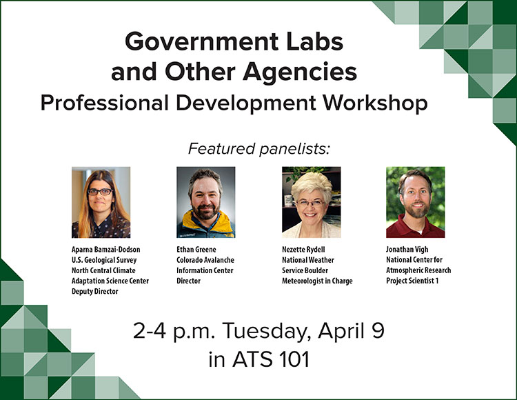 Government labs and agencies workshop flier