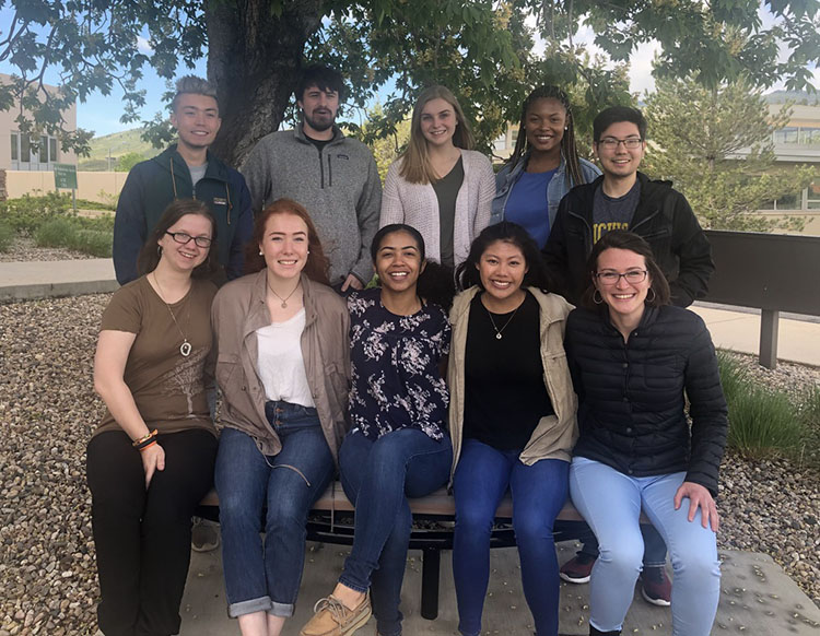 2019 REU interns