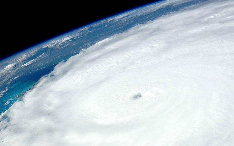 hurricane satellite imagery