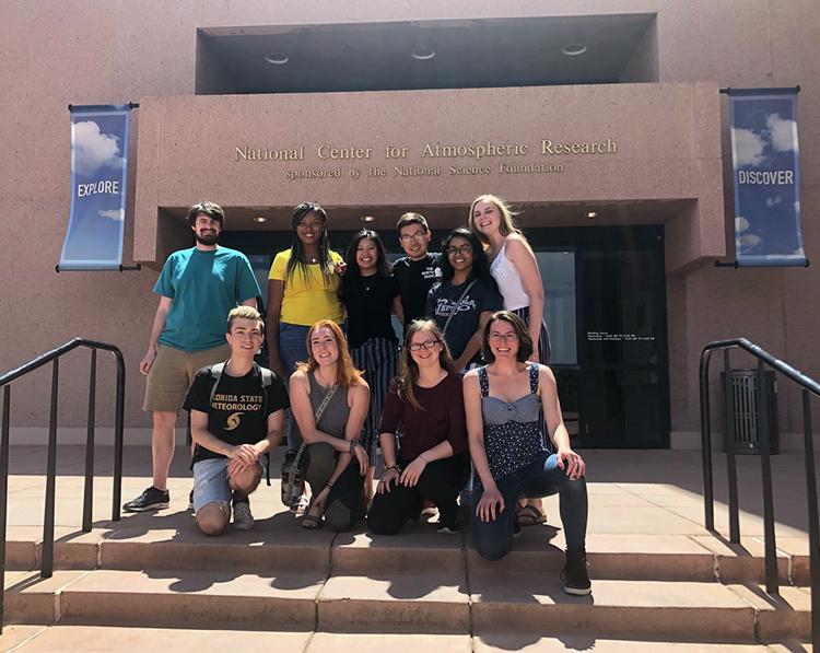 REU interns visit NCAR