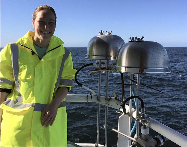Kathryn Moore aboard R/V Investigator
