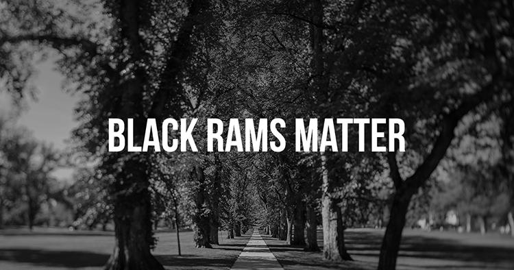 Black Rams Matter CSU image