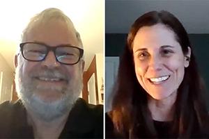 Bob Rauber and Julie Demuth