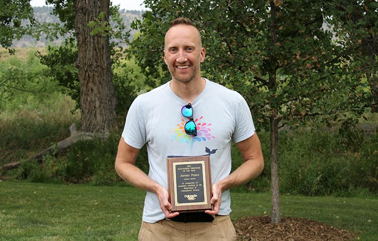 Professor of the Year Jeff Pierce