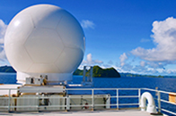 CSU SEA-POL radar aboard the R/V Thompson
