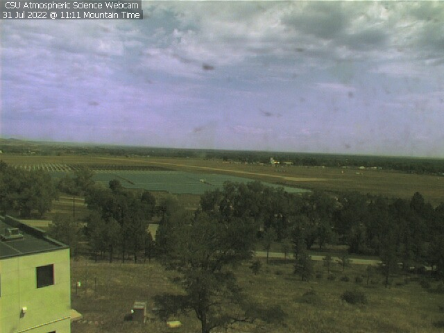 Fort Collins, Colorado CSU Department of Atmospheric Science cam