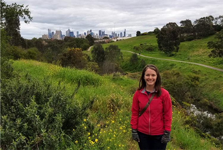 Leah Grant in Melbourne