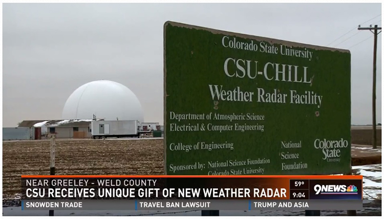 CSU-CHILL Weather Radar Facility